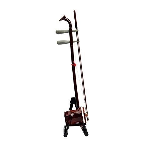 LVSSY-Modelo de Instrumento Mini Erhu Hecho a Mano Regalo de