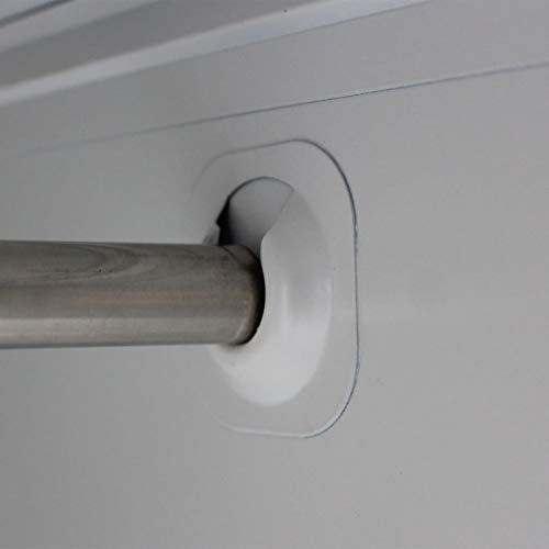 FTFTO Accesorios de decoración Armario de Almacenamiento con 2 Puertas de Acero 90 x 40 x 180 cm Gris