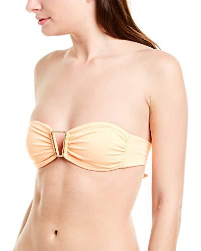 Melissa Odabash Womens Barcelona Bikini Top, 10, Orange