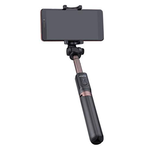 Selfie Stick/ Monópode/ Trípode telefono con Bluetooth Remoto Compatible con Sony Xperia L1, XA1 / XA1 Ultra, XA2 / XA2 Plus, XZ Premium, XZ1 XZ2 X Compact, XZ3, XZ2, XZ1, XZ Inalámbrico 360° Rotable