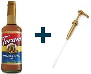 Torani Vanilla Bean & Syrup Pump