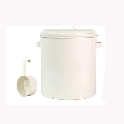 LKYBOA Caja de Almacenamiento de 10 kg de arroz for la Cocina casera Organizador harina de arroz en Polvo de contenedores de Gran Capacidad de Cereal de Grano dispensador de Comida Cubo (Color : B)