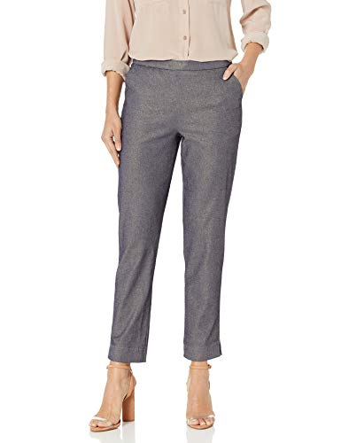 HUE Women's Gold Metal Jaquard Leggings, Small