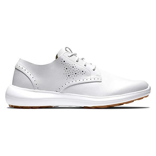 FootJoy Women's Flex LX Golf Shoe, White, 8