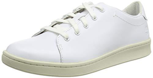 Timberland Dashiell Oxford, Sneakers Basse Donna, Blanco White Full Grain, 39 EU