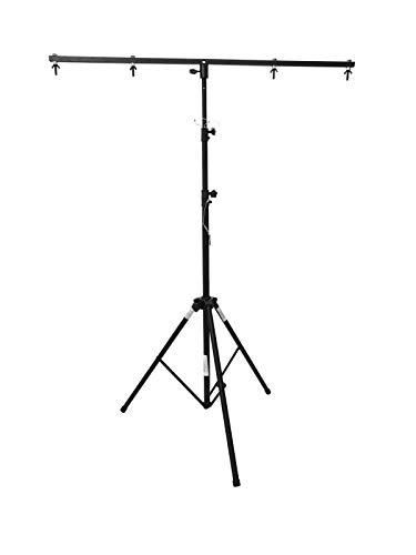 EUROLITE A1 Stahlstativ   Preisgünstiges Stativ mit Querträger, Maximallast 14 kg, Maximalhöhe 250 cm