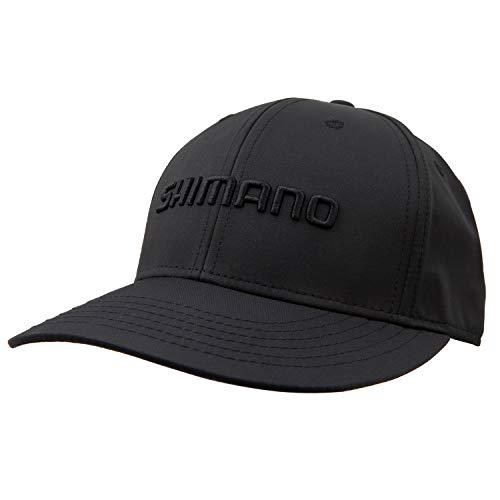 SHIMANO Trucker Style Blackout Cap, Black, One Size