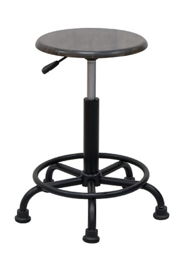 Studio Designs 13306 Retro Stool, Gunnison Gray
