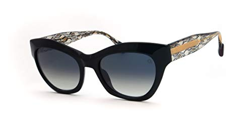 Etnia Barcelona Gafas de Sol SAINT MORITZ Black/Grey Shaded 54/19/145 unisex
