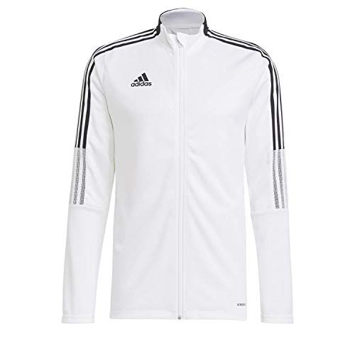 adidas GM7309 TIRO21 TK JKT Jacket Mens White L