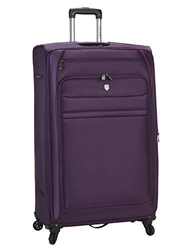 Travelers Club Checked-Extra Large, Premium Purple