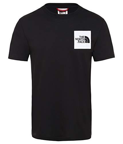 THE NORTH FACE Fine T-Shirt Herren schwarz/weiß, M
