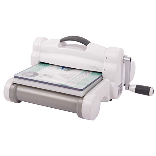 Sizzix Big Shot Plus Machine Only 660020 Máquina de troquelado manual y repujado para...