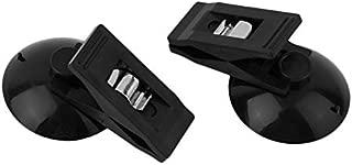 Negro RoadRoma 6pcs Negro Pinzas de pl/ástico antiest/ático Herramienta de reparaci/ón Resistente al Calor Curva Recta