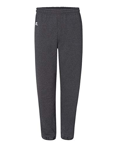 Russell Athletic Dri-Power Pantalon de poche en polaire à bas fermé pour homme Noir Taille S - Noir - XX-Large