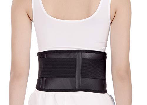 Turmalin Gurt Rückenbandage Rückengurt Rückenstütze Nierengurt mit Magneten, Größe:M