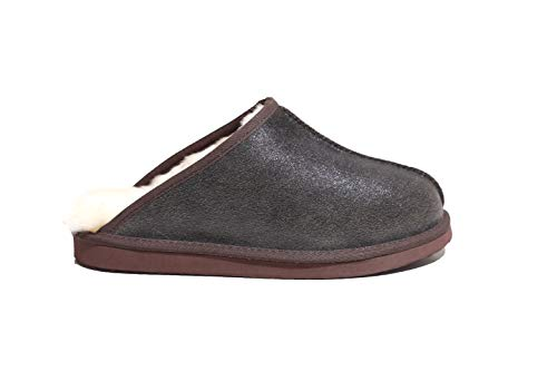 Lammfell Pantoffel Polar de Luxe Vintage Style Größe 41