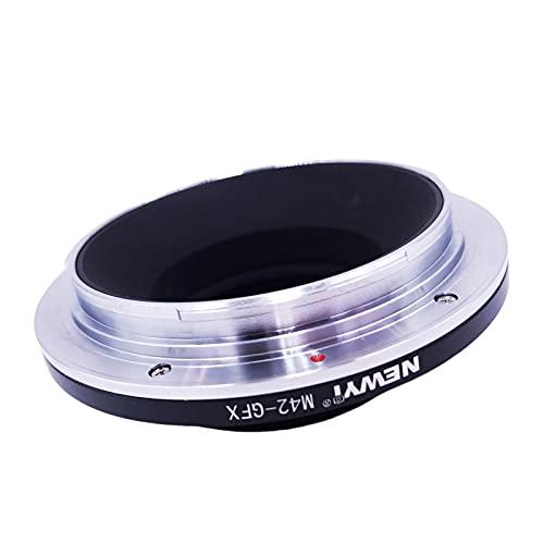 B Blesiya Convertidor Adaptador de Montaje de Lente de aleación de Aluminio M42-GFX, Apto para GFX100S 50R 50S, fotografía de cámara de Formato Medio, fácil