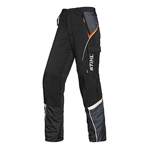 Stihl Bundhose mit Schnittschutz ADVANCE X-LIGHT schwarz / warnorange XL
