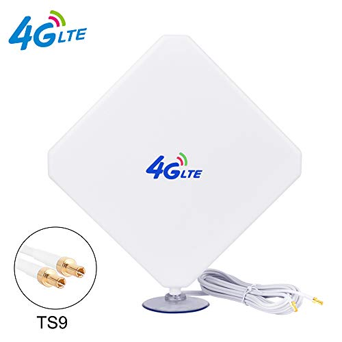 4G Antenne TS9 LTE Antenne 35dBi Dual Mimo Netzwerk Antenne Signalverstärker für 3G/4G Router Vodafone Huawei E5377 E160 E160E E173 E1820 E3613 E353 E355-2m Kabel