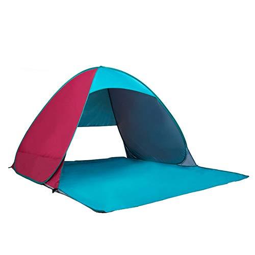 Tent Carpa de Playa toldo emergente portátil Carpa Anti-Ultravioleta Carpa de Campamento al Aire Libre sombrilla de Playa Carpa de Campamento Carpa de Pesca