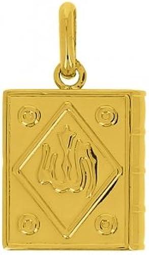 punto de venta barato AvenueDuBijou Colgante libro alá oro amarillo 18quilates 18quilates 18quilates + cadena oro amarillo Offerte  ahorra 50% -75% de descuento
