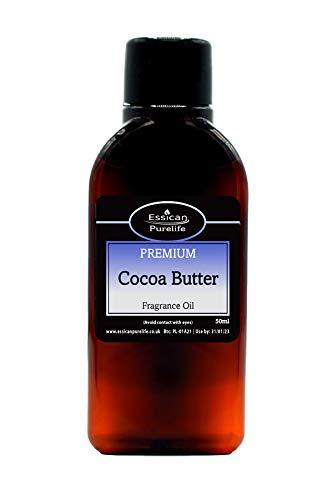 Aroma de aceite para hacer velas de cacao y mantequilla de baño, disponible en botellas de 10 ml, 50 ml, 100 ml y 200 ml 50 ml