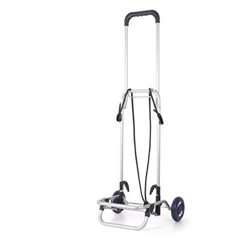 Andersen - Carrello richiudibile portavaligie L/Carrello di Trasporto con Impugnatura Ripiegabile / 30 kg di Portata/con Cinghie