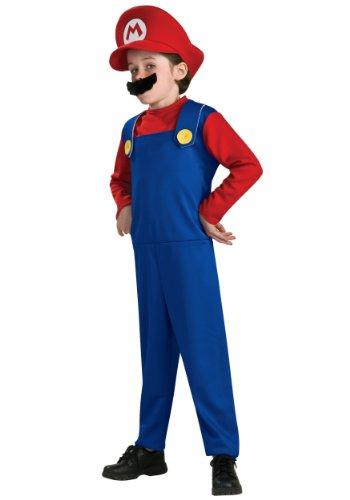 Rubie's-déguisement officiel - Mario Bros - Déguisement Costume Mario Bros - Taille S- I-883653S