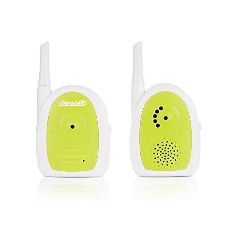 Chipolino Babyphone Nano, adapter o. werkt op batterijen, riemclips, tot 300 m groen