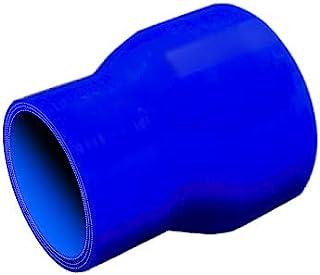 TOYOKING製 ハイテク シリコンホース ストレート ショート 異径 内径Φ45→76mm 青色 ロゴマーク無し インタークーラー ターボ インテーク ラジェーター ライン パイピング 接続ホース 汎用品