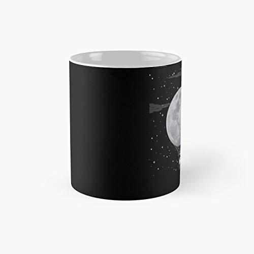Taza clásica de Moon in Space   El mejor regalo divertidas tazas de café de 325 ml