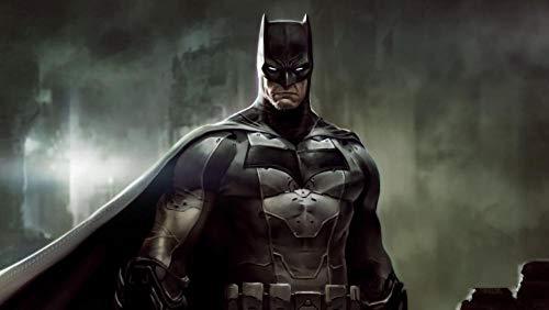 XHXYTSM Rompecabezas para adultos y niños 1000 piezas Dibujos animados Batman-Warrior Tangram de lógica de madera Super duro clásico Ocio y entretenimiento Juegos familiares Regalo creatividad