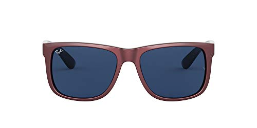 Ray-Ban Justin Gafas, BURDEPS, 51MM Unisex Adulto
