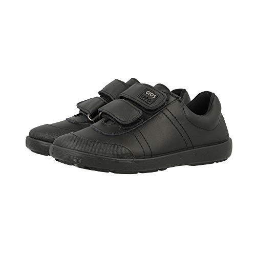 Gioseppo Newton, Zapatillas sin Cordones Niño, Negro (Negro Negro), 27 EU