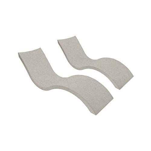Ledge Lounger in-Pool Chaise Lounge for 0-9 in. of Water (Set of 2, Sandstone)