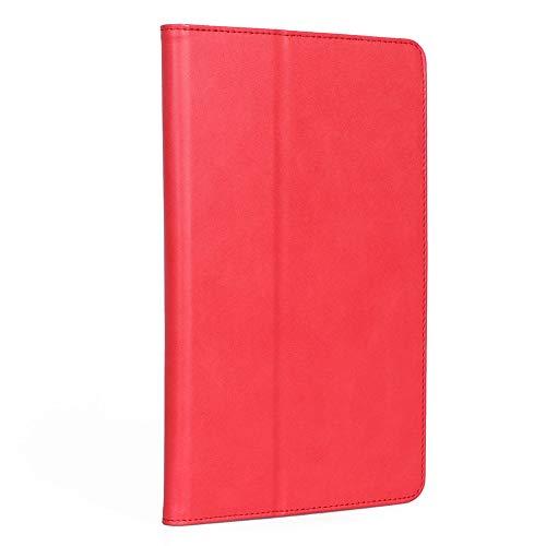 """ISIN Premium PU Folio Funda Case Cover Carcasa con Stand Función para Xiaomi Mi Pad 4 Plus(No Apto para Xiaomi Mi Pad 4) 10,1"""" Android Tablet PC(Rojo)"""