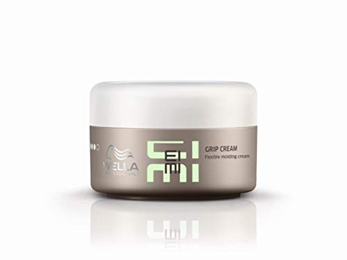Wella Eimi Grip Cream Hold Level 3 Size 2.51oz / Create Distinctive Styles / Great on Long or Short Hair / Soft Texture Cream / Strong and Flexible Support by Wella