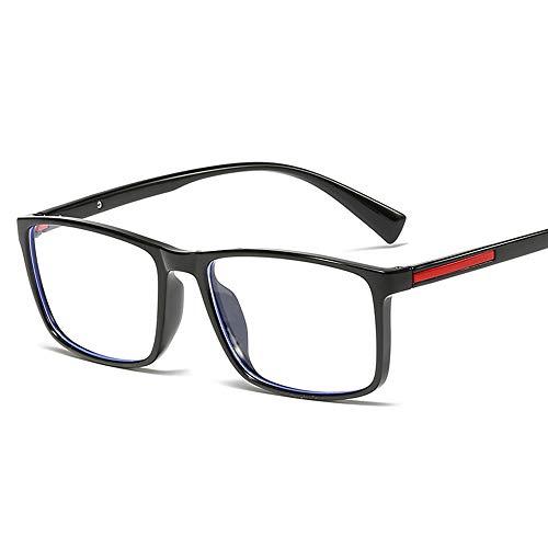 ZTXYJ Blue Light Blocking Bril, Goggle voor computergebruik, Anti Eyestrain Lichtgewicht Screen Bril, Zwart, Leesbril, Mannen/vrouwen