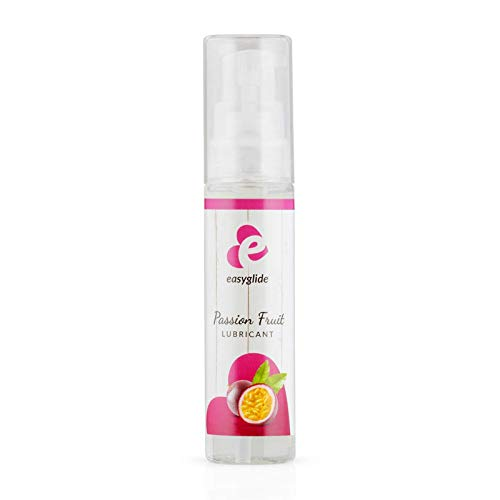 EasyGlide Passionsfrucht Gleitgel (30ml) Schonendes Gleitgel auf Wasserbasis für hohe Feuchtigkeit; Vegan, kondomgeeignet und lecker