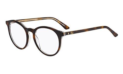 Dior Brillen Für Frau MONTAIGNE15 G9Q, Tortoise / Crystal Kunststoffgestell
