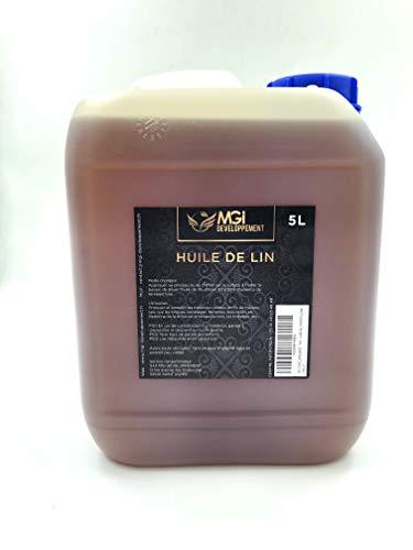 MGI DEVELOPPEMENT - HUILE DE LIN - 5 Litres