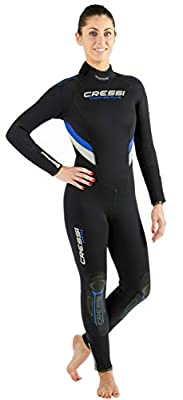 One-Piece Scuba Diving Full Wetsuit 5mm/7mm Durable Nylon II Neoprene, Men's and Ladies'   Castoro: Designed in Italy