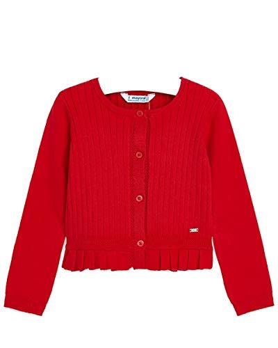 Mayoral Chaquetón corto de niña rojo 5 años