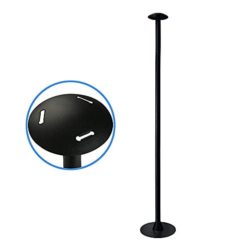 """Reinforced Boat Cover Support Pole, ABS Support Pole for Boat Cover, Adjustable Support Pole System (Black , 12""""-54"""" , ABS, 1 Pack)"""