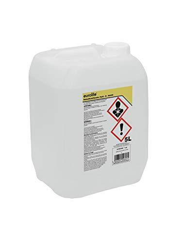 Eurolite Smoke Fluid -B- Basic 5 Liter | Nebelfluid für Nebelmaschinen | Mittlere Dichte und Standzeit | Made in Germany | Geruchsneutral auf Wasserbasis | Biologisch abbaubar