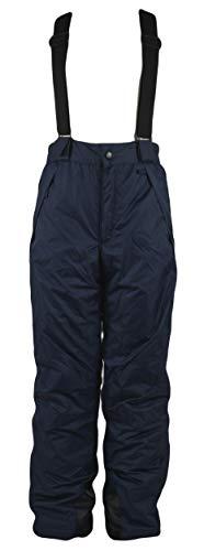 Generisch Mädchen Kinder Skihose Wintersport Sporthose Schneehose Hose, Farbe:Blau, Größe:134/140