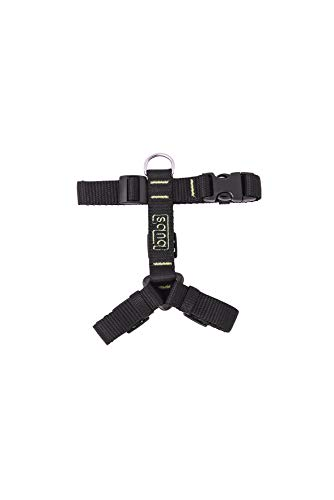 bub's Not Pull - arnés para Perro pequeño Sistema Anti tirón (Comprobar tamaño: Cuello 24 a 42 cm Pecho 31 a 49 cm) Color Negro
