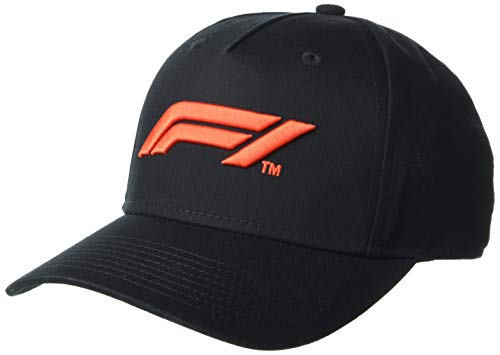 Youth Formula 1 F1 Tech Collection Logo Cap, Black, One size