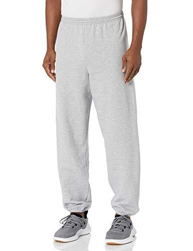 Hanes Men's EcoSmart Non-Pocket Sweatpant, Light Steel, Medium